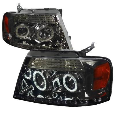 Spec-D - Ford F150 Spec-D R8 Projector Headlight - 2LHP-F15004G-8-RS