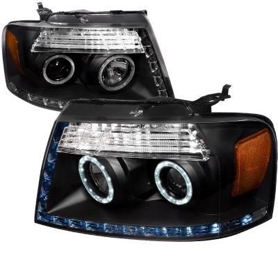 Spec-D - Ford F150 Spec-D R8 Projector Headlight - 2LHP-F15004JM-8-RS