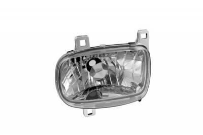 Spyder - Mazda RX-7 Spyder Crystal Headlights - Chrome - 333-MRX793-C