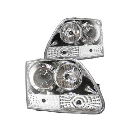 Spyder - Ford F150 Spyder Projector Headlights - Chrome - 444-FF15097-C