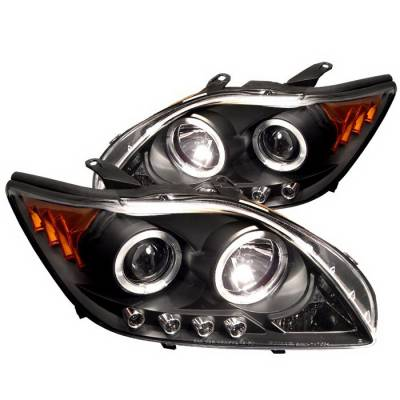 Spyder Auto - Scion tC Spyder Halo LED Projector Headlights - Black - 444-VG06-HID-DRL-BK