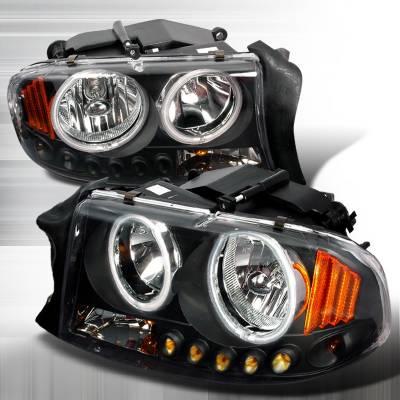 Spec-D - Dodge Durango Spec-D Crystal Housing Headlights - Black - 4LH-DAK97HJM-KS