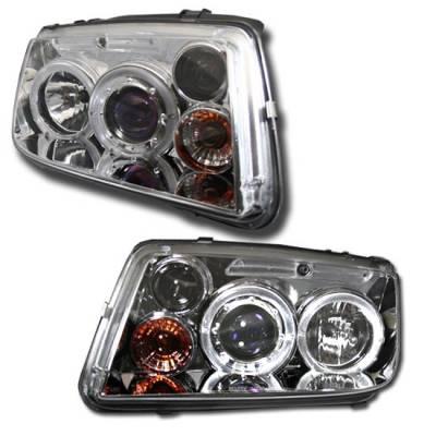 Syminc - Chrome Halo G3 Headlights