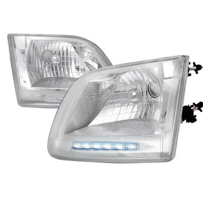 Spec-D - Ford F150 Spec-D Expedition Headlights - LH-F15097-RS