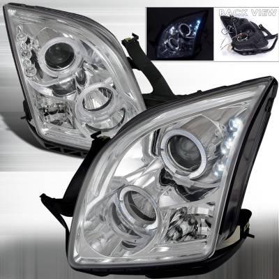 Spec-D - Ford Fusion Spec-D Projector Headlights - LHP-FUS06-TM