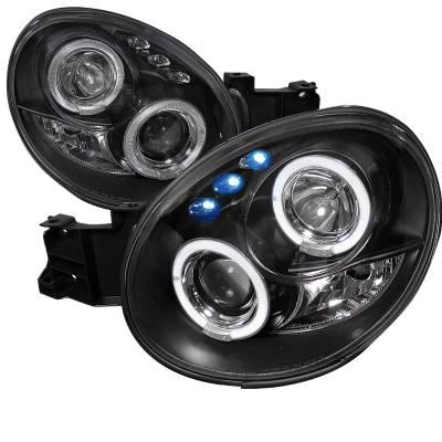Spec-D - Subaru WRX Spec-D Projector Headlights - LHP-WRX02JM-TM