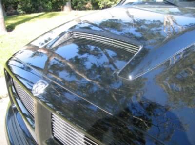 T-Rex - Dodge Ram T-Rex Billet Hood Scoop Insert - 3 Bars - 20463