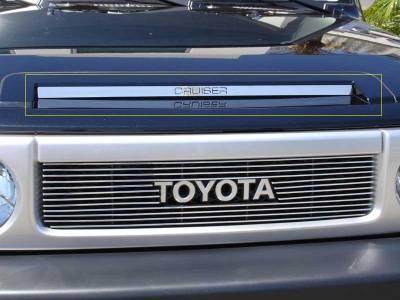 T-Rex - Toyota FJ Cruiser T-Rex Polished Stainless Steel Cruiser Hood Scoop - 21933