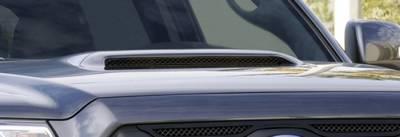 T-Rex - Toyota Tacoma T-Rex Mesh Hood Scoop - All Black - 51939