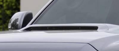 T-Rex - Toyota Tacoma T-Rex Billet Hood Scoop Insert - All Black - 1PC - 20939B