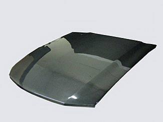 Street Scene - Ford Mustang Street Scene OEM Hood - Carbon Fiber - 950-72156