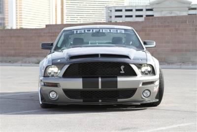 TruFiber - Ford Mustang TruFiber Carbon Fiber GT500 GT-S V.4 w/ Recess Hood TC10024-A53KR-L