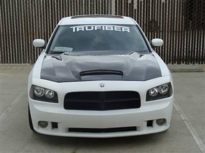 TruFiber - Dodge Charger TruFiber Carbon Fiber Six Pack Hood TC20020-A9