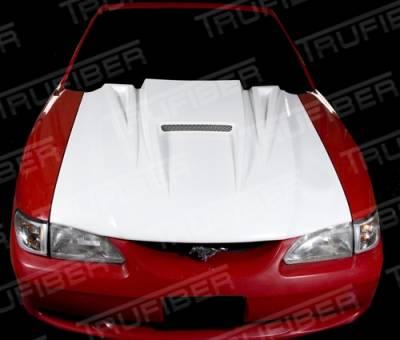 TruFiber - Ford Mustang TruFiber Spyder Hood TF10022-A14