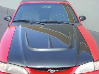 TruFiber - Ford Mustang TruFiber Monster Hood TF10022-A28