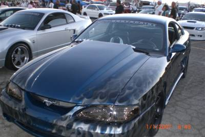 """TruFiber - Ford Mustang TruFiber 3"""" Cowl Hood TF10022-A49-3"""