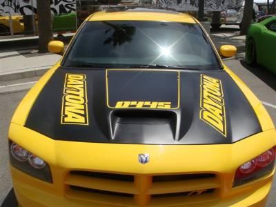 "TruFiber - Dodge Charger TruFiber 2"" Cowl Hood TF20020-A23"