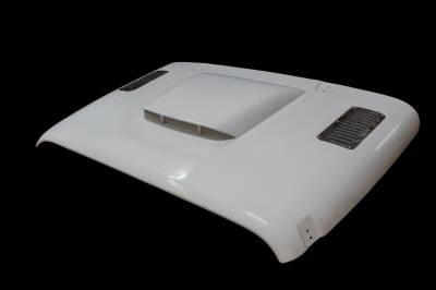 TruFiber - Jeep Wrangler TruFiber Heat Reduction Hood TF50120-A69