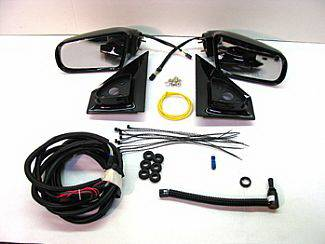 Street Scene - GMC Safari Street Scene Cal Vu Manual Mirror to Electric Mirror Kit - 950-14420