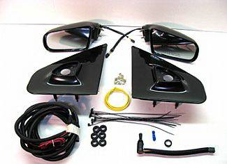 Street Scene - Ford F150 Street Scene Cal Vu Manual Mirror to Electric Mirror Kit - 950-14724