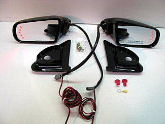 Street Scene - Dodge Ram Street Scene Cal Vu Electric Mirrors with Rear Signals Kit - 950-15520