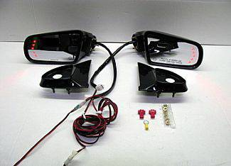 Street Scene - Dodge Durango Street Scene Cal Vu Electric Mirrors with Rear Signals Kit - 950-15620