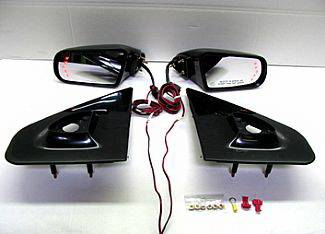 Street Scene - Ford F150 Street Scene Cal Vu Electric Mirrors with Rear Signals Kit - 950-15724