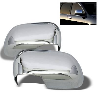 Spyder Auto - Dodge Durango Spyder Mirror Cover - Chrome - CA-MC-DD04