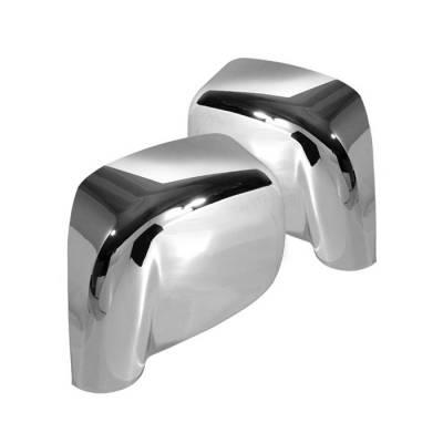 Spyder - Dodge Ram Spyder Mirror Cover - Chrome - CA-MC-DR02