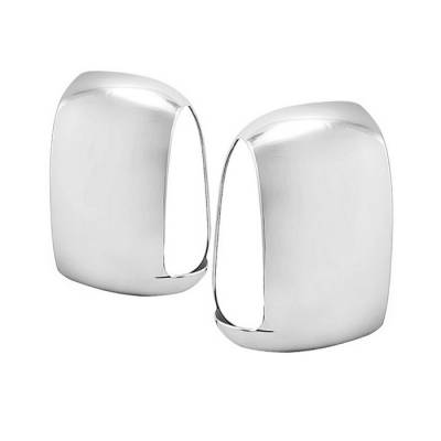Spyder - Ford Superduty Spyder Mirror Cover with Signal - Chrome - CA-MC-FF25099