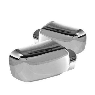 Spyder - Nissan Titan Spyder Mirror Cover - Chrome - CA-MC-NT04