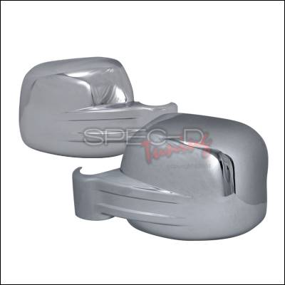 Spec-D - Jeep Liberty Spec-D Side Mirror Cover - Chrome - RMC-LIB02CR