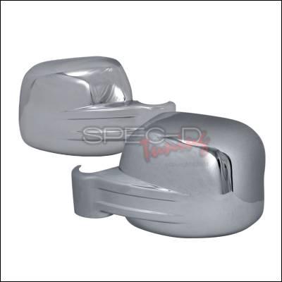 Spec-D - Jeep Liberty Spec-D Side Mirror Cover - Chrome - RMC-LIB02CR