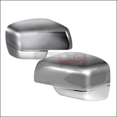 Spec-D - Land Rover Range Rover Spec-D Side Mirror Cover - Chrome - RMC-RRL32203CR