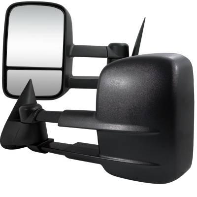 Spec-D - Chevrolet C10 Spec-D Towing Mirrors - Power - RMX-C1088-P-FS