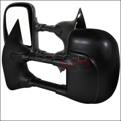Spec-D - Ford E-Series Spec-D Towing Mirrors - Power - RMX-ECON02-P-FS