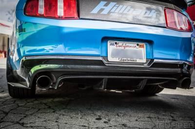 TruFiber - Ford Mustang TruFiber Carbon Fiber LG58 Rear Diffuser TC10025-LG58