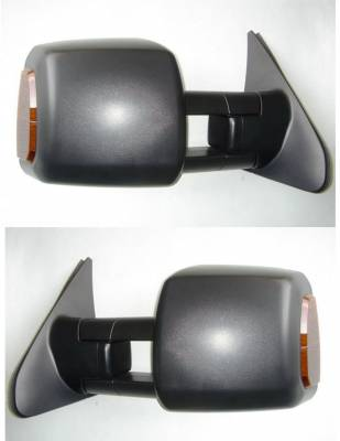 Suvneer - Toyota Tundra Suvneer Standard Extended Towing Mirror with Turn Signals - Chrome Cover - Left & Right Side - TYT1-9410-00