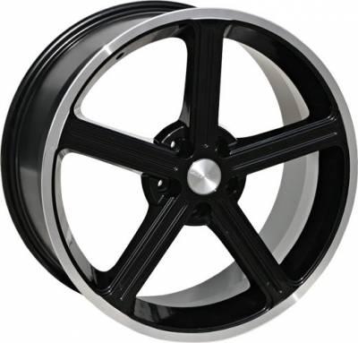 Steeda - Ford Mustang Steeda Black Ultra Lite Wheel