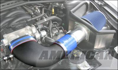 Steeda - Ford Mustang Steeda Cold Air Intake Kit with Carbon Fiber Inlet Elbow - 16182