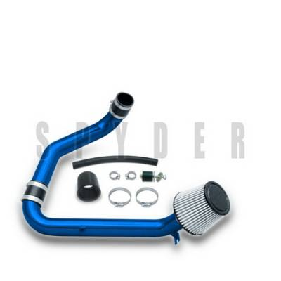 Spyder Auto - Honda Civic Spyder Cold Air Intake with Filter - Blue - CP-413B