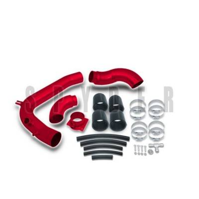 Spyder - Nissan 240SX Spyder Cold Air Intake with Filter - Red - CP-440R