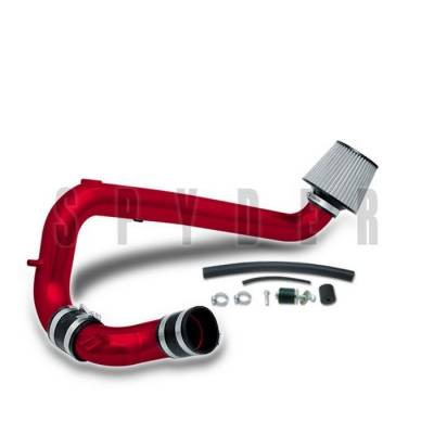 Spyder - Chevrolet Cavalier Spyder Cold Air Intake with Filter - Red - CP-447R