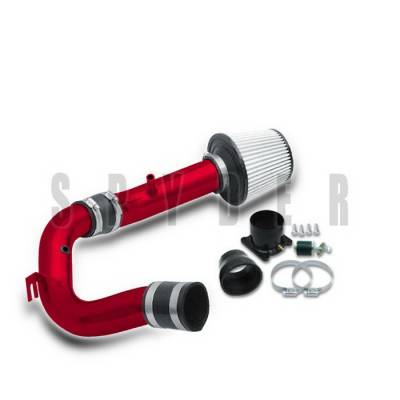 Spyder Auto - Nissan Sentra Spyder Cold Air Intake with Filter - Red - CP-449R