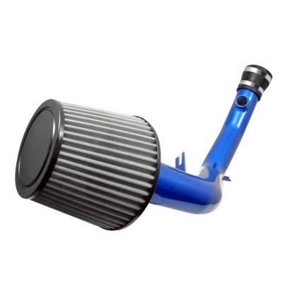 Spyder - Volkswagen Jetta Spyder Cold Air Intake with Filter - Blue - CP-490B