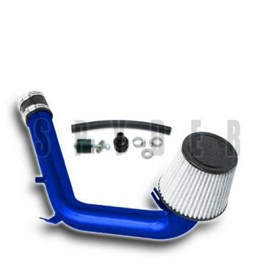 Spyder - Volkswagen Jetta Spyder Cold Air Intake with Filter - Blue - CP-492B
