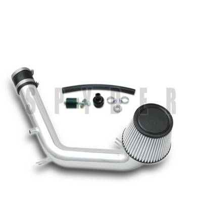 Spyder - Volkswagen Jetta Spyder Cold Air Intake with Filter - Polish - CP-492P