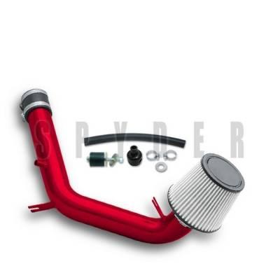 Spyder - Volkswagen Jetta Spyder Cold Air Intake with Filter - Red - CP-492R