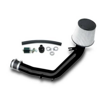 Spyder Auto - Volkswagen Jetta Spyder Cold Air Intake with Filter - Black - CP-493BLK