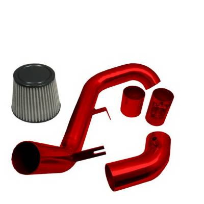 Spyder Auto - Honda Civic Spyder Cold Air Intake with Filter - Red - CP-517R